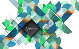 Circles vector abstract background Royalty Free Stock Image