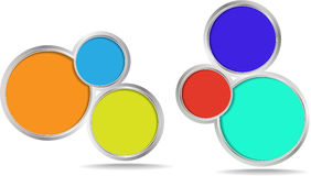 Circles vector banner Royalty Free Stock Photo