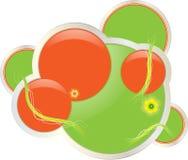 Circles vector banner Stock Photography