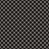 Circles vector seamless pattern with big and small dots. Stock Images