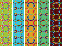 Circles vertical seamless textures royalty free stock photo