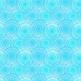 Circles water ripples seamless background. Blue water circes ripple background Royalty Free Stock Image