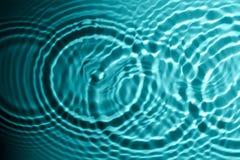 Circles on water Stock Photos