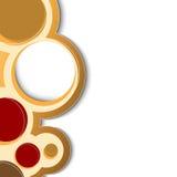 circlesncircles διανυσματική απεικόνιση