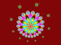 Circlesong vector illustratie