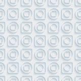 Circless和正方形无缝的样式 免版税库存图片