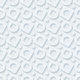 Circless和正方形无缝的样式 免版税图库摄影
