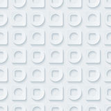 Circless and squares seamless pattern. Stock Photography