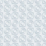 Circless and squares seamless pattern. Royalty Free Stock Image