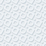 Circless and squares seamless pattern. Royalty Free Stock Photography