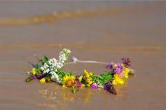 Circlet das flores Imagens de Stock