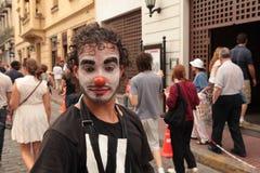 Circo DE calle royalty-vrije stock foto's