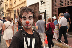 Circo de calle Royalty Free Stock Photos