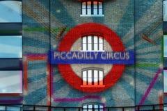 circo de la luz, Lumiere Londres Imagen de archivo libre de regalías