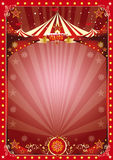 Circo de la Navidad del cartel Foto de archivo libre de regalías