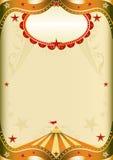 Circo de papel velho Imagens de Stock Royalty Free