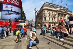 Circo de Piccadilly Imagem de Stock