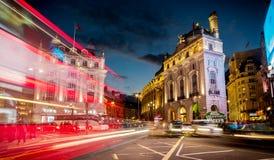 Circo de Piccadilly, Londres central Foto de archivo libre de regalías