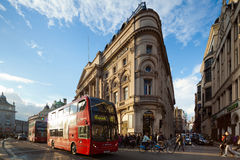 Circo de Piccadilly, Londres, Reino Unido Imagens de Stock