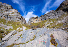 Circo de Soaso in Ordesa Valley Aragon Pyrenees spain Stock Photography