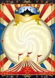 Circo della grande parte superiore Fotografia Stock Libera da Diritti
