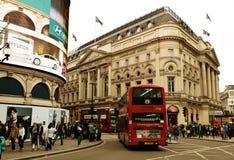 Circo di Londra Piccadilly Fotografie Stock Libere da Diritti