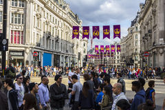 Circo di Oxford a Londra Fotografie Stock Libere da Diritti