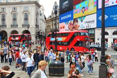 Circo di Piccadilly Fotografia Stock Libera da Diritti