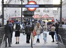 Circo di Piccadilly Fotografie Stock