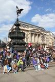 Circo di Piccadilly Immagini Stock Libere da Diritti
