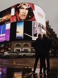 Circo di Piccadilly a Londra immagini stock libere da diritti