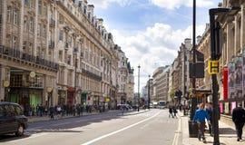 Circo di Piccadilly a Londra Fotografia Stock Libera da Diritti