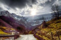 Circo di Pirenei Fotografia Stock