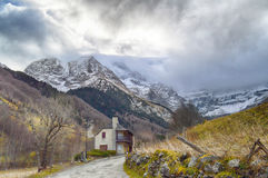 Circo di Pirenei Fotografia Stock Libera da Diritti