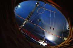 Circo dopo le ore Fotografia Stock