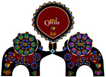 Circo etnico Fotografia Stock