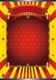 Circo feliz del cartel Foto de archivo libre de regalías