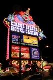 Circo Las Vegas del circo Imagen de archivo libre de regalías