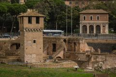 Circo Massimo History City Rome Empire stock image