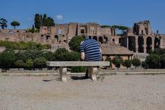 Circo Massimo, Rome, Italië Royalty-vrije Stock Foto