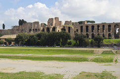 Circo Massimo in Rome - Italy. The Circo Massimo in Rome Royalty Free Stock Image