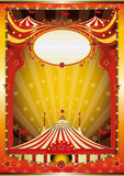Circo Multicolor do fundo Imagens de Stock