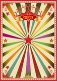 Circo multicolore Fotografia Stock