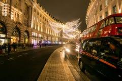 Circo na noite, Londres de Picadilly Foto de Stock
