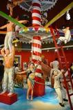 Circo no museu do olho do truque Foto de Stock