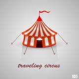 Circo que viaja Imagen de archivo