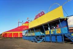 Circo que viaja Fotografía de archivo libre de regalías