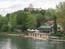 Circolo Canottieri (het Roeien Club) in Turijn royalty-vrije stock afbeelding