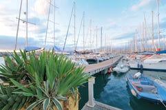 Circolo Nautico NIC Porto di Catania - Sicilia Italy Italia - Creative Commons by gnuckx Stock Image