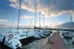 Circolo Nautico NIC Porto di Catania Sicilia Italy Italia - Creative Commons by gnuckx Royalty Free Stock Images